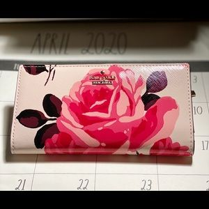 KATE SPADE Limited Edition Rose Wallet